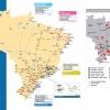 Mapa Ferroviário Brasileiro